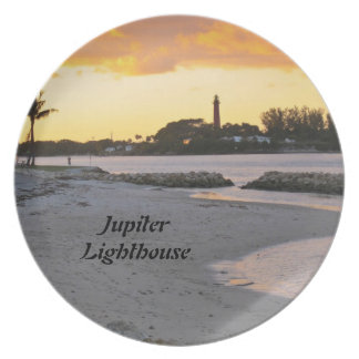Jupiter Lighthouse Party Plate