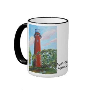Jupiter Lighthouse Ringer Mug