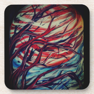 Jupiter Moon Hard Plastic Coasters