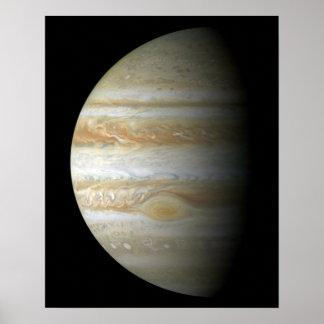 Jupiter mosiac poster