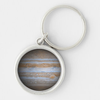 Jupiter - Multiple Products Silver-Colored Round Key Ring