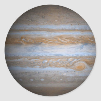 Jupiter - Multiple Products Round Stickers