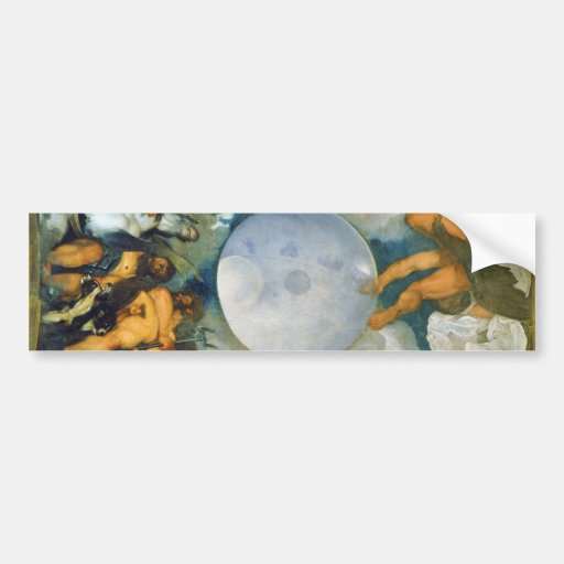 Jupiter Neptune and Pluto by Caravaggio in 1597 Bumper Stickers