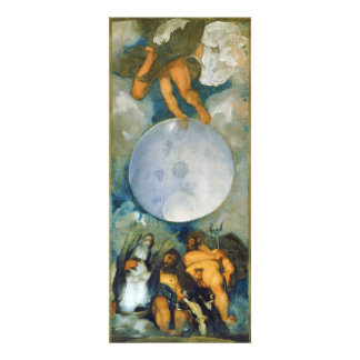 Jupiter Neptune and Pluto by Caravaggio in 1597 Personalized Invites