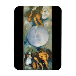 Jupiter Neptune and Pluto by Caravaggio in 1597 Rectangular Photo Magnet