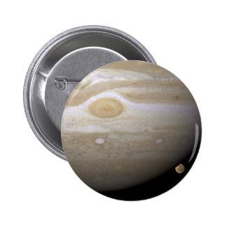 Jupiter occults Ganymede 6 Cm Round Badge
