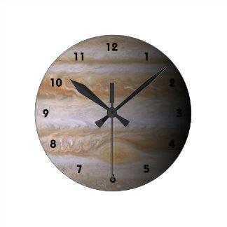 Jupiter planet astronomy nebula space galaxy round clock