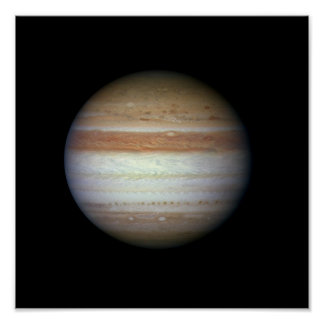 Jupiter Planet NASA Poster