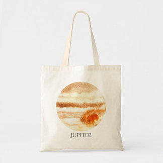 Jupiter Planet Watercolor Tote