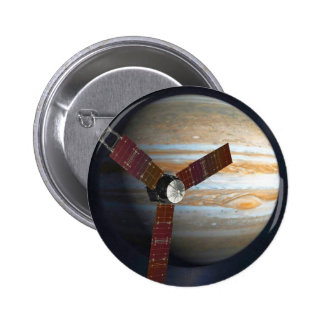 Jupiter Probe 6 Cm Round Badge