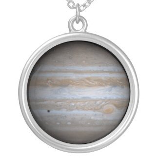 Jupiter Solar System Planet Charm Necklace