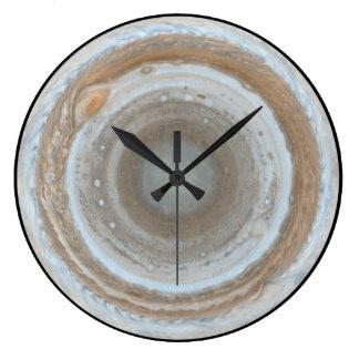 Jupiter south pole clock