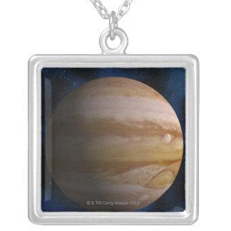 Jupiter Square Pendant Necklace