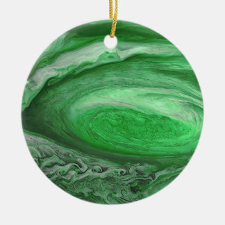 Jupiter Storm Ceramic Ornament