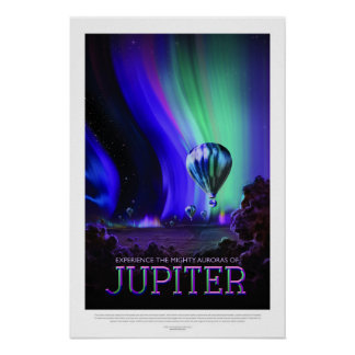 Jupiter, Travel Poster