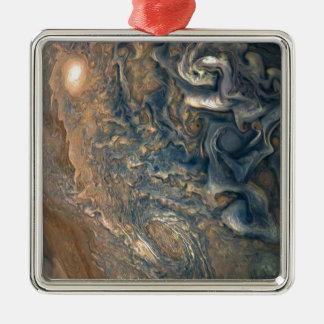 Jupiter's Clouds Metal Ornament