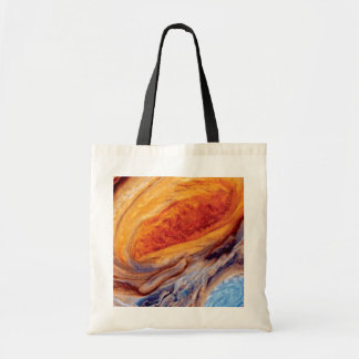 Jupiter's Great Red Spot Canvas Bags