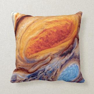 Jupiter's Great Red Spot Pillows