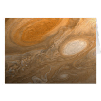 Jupiter's Great Red Spot from Voyager 1 Card