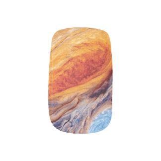 Jupiter's Great Red Spot - NASA Voyager Photo Minx Nail Art