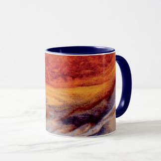 Jupiter's Great Red Spot - NASA Voyager Photo Mug