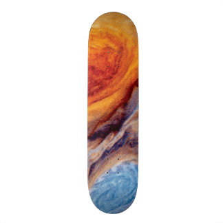 Jupiter's Great Red Spot - NASA Voyager Photo Skateboard