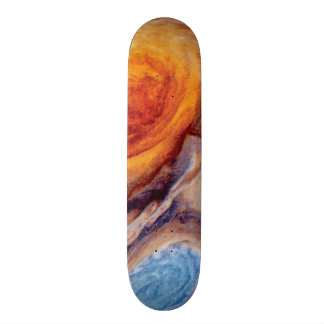 Jupiter's Great Red Spot - NASA Voyager Photo Skateboard Deck
