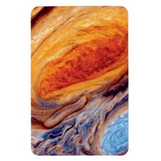Jupiter's Great Red Spot Rectangle Magnet