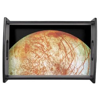 Jupiter's Moon Europa Food Trays