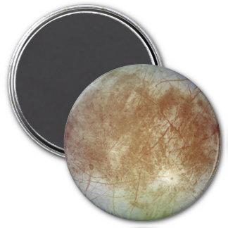 Jupiter's Sattelite Europa for the Nerd Geeks 7.5 Cm Round Magnet