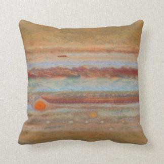 Jupiter's Surface | Throw Pillow