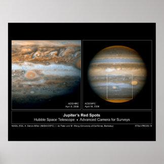 JupitersTwoRedSpots-2006-19 Poster