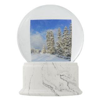 Jura mountain in winter, Switzerland Snow Globes