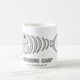 jurassic carp magic mug