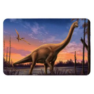 Jurassic Dinosaur Flexi Magnet