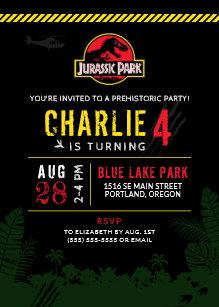 Park Birthday Invitations
