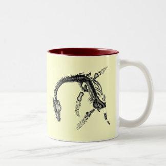 Jurassic Perks Two-Tone Coffee Mug