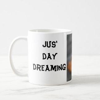 jus' day dreaming basic white mug