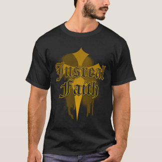 Jus Real Faith - Stains covered over T-Shirt