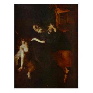 Jusepe Ribera-Deliverence of St. Peter, Prison Postcard