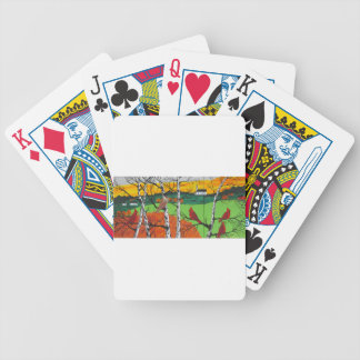 Just A Beautiful Day Bicycle Playing Cards