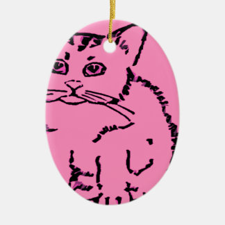 just a cat christmas tree ornaments