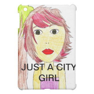 Just a city girl ipad case