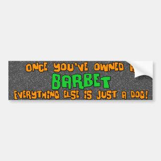 Just a Dog Barbet Bumper Sticker