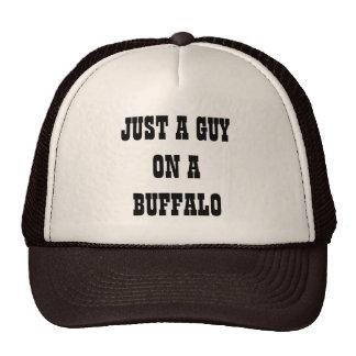 Just a Guy on a Buffalo Cap