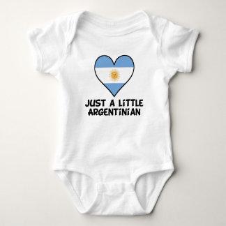 Just A Little Argentinian Baby Bodysuit