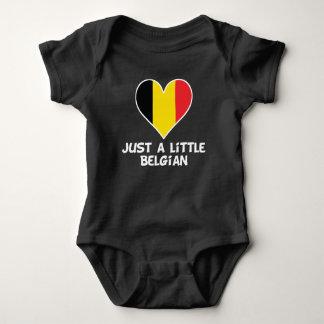Just A Little Belgian Baby Bodysuit