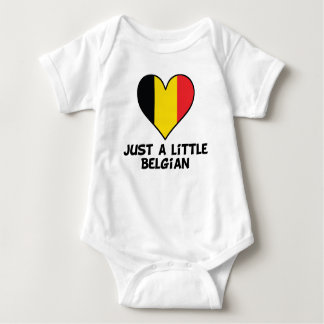 Just A Little Belgian Baby Bodysuit