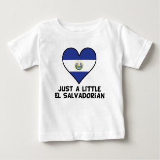 Just A Little El Salvadorian Baby T-Shirt