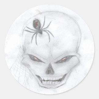 Just_a_little_evil_by_Ravenna Round Sticker